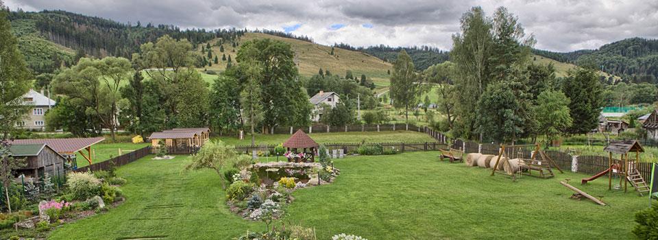 Prídte si oddýchnuť do našej úžasnej záhrady s jazierkom